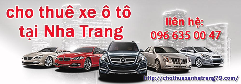 Dịch vụ cho thuê xe tại Nha Trang