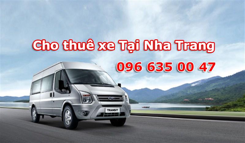 Bảng báo giá dịch vụ cho thuê xe Tour du lịch tại Nha Trang